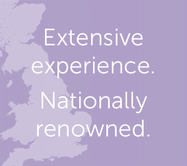 Extensive experience. Nationally renowned.