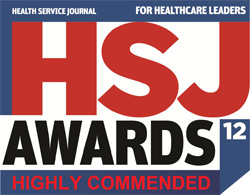 Health Service Journal 2012 award