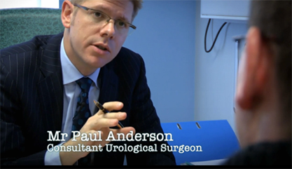 Consultant urologist Paul Anderson performs the Yuchia procedure to correct a penile malformation